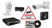 IP-Kameras und Zubehör