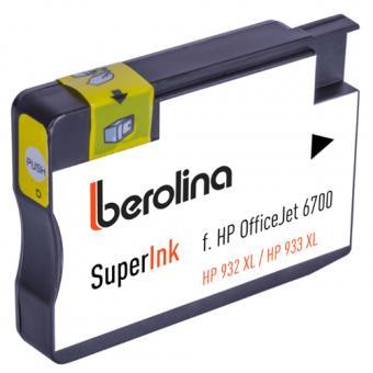 SuperInk für HP OfficeJet 6700, gelb