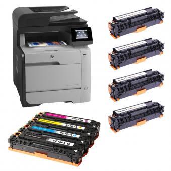 SONDERAKTION: HP MFP M476dn Color LaserJet Pro Farblaserdrucker