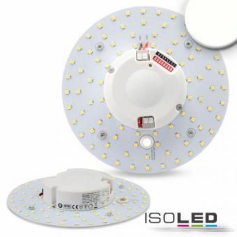LED Umrüstplatine Radarsensor 160mm, 14W, mit Magnet, neutralweiß