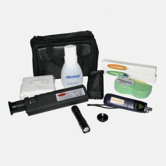 Professionelles Inspektions- und Reinigungsset für optische Fasern