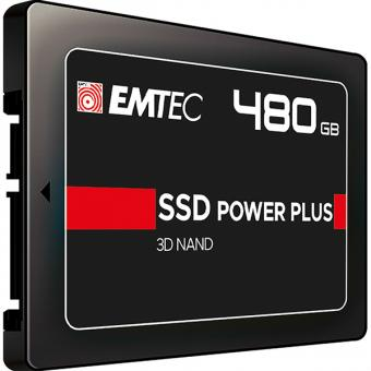 SSD Intern X150 480GB, SSD Power Plus, 2.5 Zoll, SATA III 6GB/s
