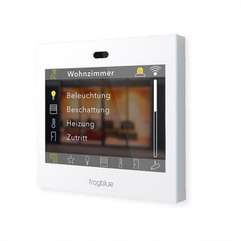 frogDisplay, Touchscreen-Steuerung