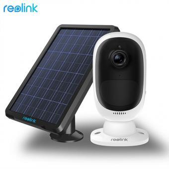 Argus 2, 100% kabellose wiederaufladbare WLAN-Kamera, inkl. Solarpanel