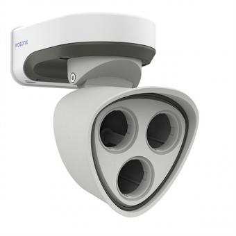M73 Kamera Body, ohne Objektiv(e), weiß-grau, RJ45
