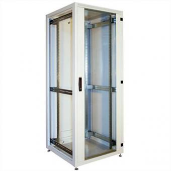 RI7 ISeven Armoire IT 21 UH, 800 x 800mm, RAL 7035 gris clair