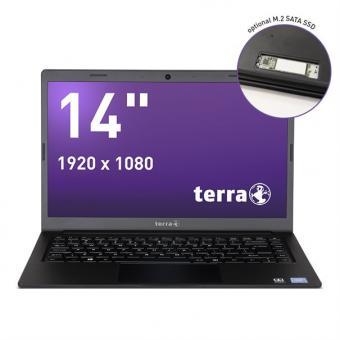TERRA MOBILE 1416, Prozessor i-N4000 Windows 10, Tastatur Schweiz