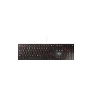 Cherry Keyboard KC 6000 Slim, Deutsch, schwarz
