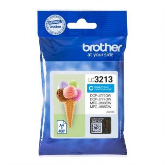 Tinte Brother LC-3213C Cyan