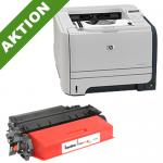 xChange Printer HP LJ P2055DN mit 1 SuperCart Toner